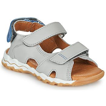 Sapatos Rapaz Sandálias GBB DIMOU Cinza