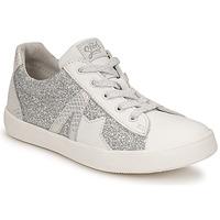 Sapatos Rapariga Sapatilhas GBB DANNI Branco / Prata