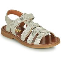 Sapatos Rapariga Sandálias GBB KATAGAMI Bege / Ouro