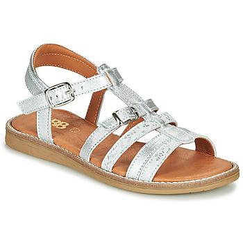 Sapatos Rapariga Sandálias GBB OLALA Prata