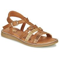 Sapatos Rapariga Sandálias GBB OLALA Castanho