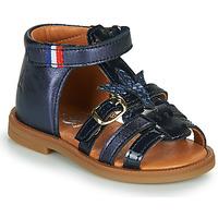 Sapatos Rapariga Sandálias GBB PAULETTE Marinho