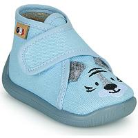 Sapatos Rapaz Chinelos GBB APOSTIS Azul