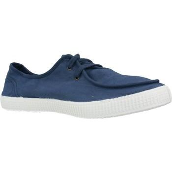Sapatos Homem Sapatilhas Victoria 116601V Azul