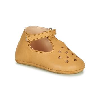 Sapatos Criança Chinelos Easy Peasy LILLOP Conhaque