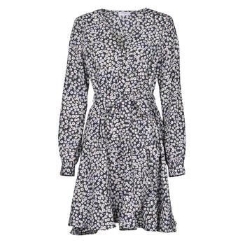 Textil Mulher Vestidos curtos Betty London NAZUR Marinho / Branco