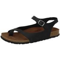 Sapatos Mulher Sandálias Interbios  Preto
