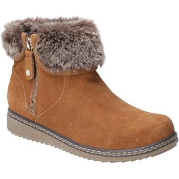Sapatos Mulher Botas de neve Hush puppies  Tan