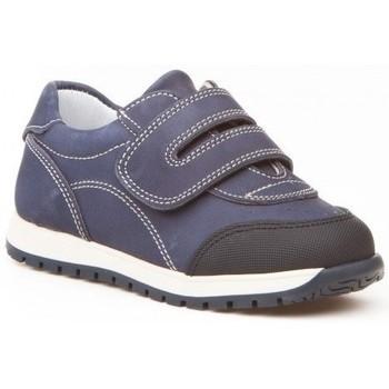 Sapatos Rapaz Sapatilhas Angelitos Deportivo de niño de piel by Pablosky Bleu