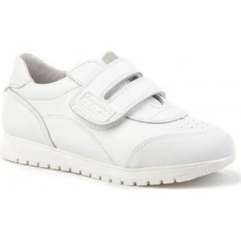 Sapatos Criança Sapatilhas Angelitos Deportivo de niño de piel by Pablosky Blanc