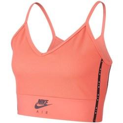 Textil Mulher Tops / Blusas Nike Air Cor de laranja