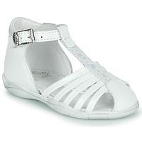 Sapatos Rapariga Sandálias Little Mary VOLGA Branco