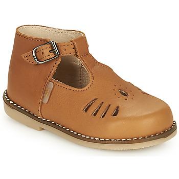 Sapatos Rapariga Sapatilhas de cano-alto Little Mary SURPRISE Castanho