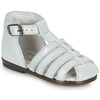 Sapatos Rapariga Sandálias Little Mary JULES Prata