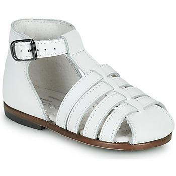 Sapatos Rapariga Sandálias Little Mary JULES Branco