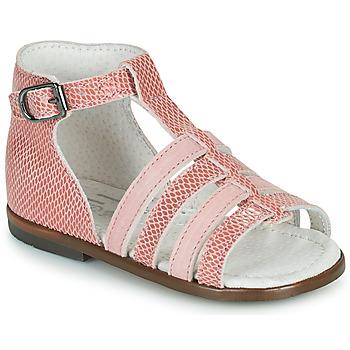 Sapatos Rapariga Sandálias Little Mary HOSMOSE Rosa