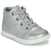 Sapatos Rapariga Sapatilhas de cano-alto Little Mary VITAMINE Prata