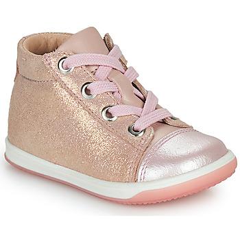 Sapatos Rapariga Sapatilhas de cano-alto Little Mary VITAMINE Rosa