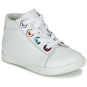 Sapatos Rapariga Sapatilhas de cano-alto Little Mary VITAMINE Branco