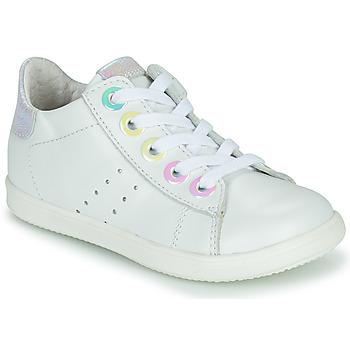 Sapatos Rapariga Sapatilhas de cano-alto Little Mary DOROTHE Branco
