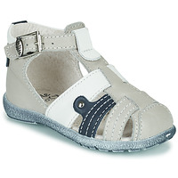 Sapatos Rapaz Sandálias Little Mary VERCORS Cinza