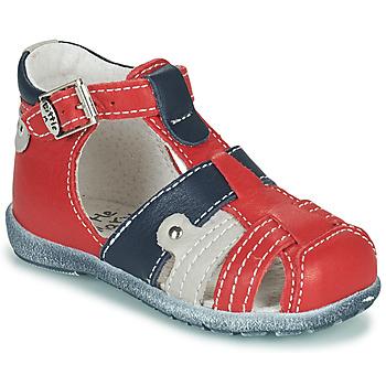 Sapatos Rapaz Sandálias Little Mary VERCORS Vermelho