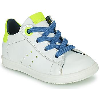 Sapatos Rapaz Sapatilhas Little Mary DUSTIN Branco