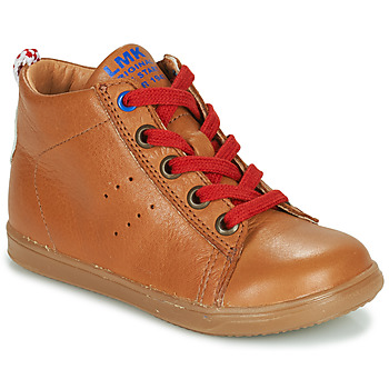 Sapatos Rapaz Sapatilhas de cano-alto Little Mary LEON Castanho