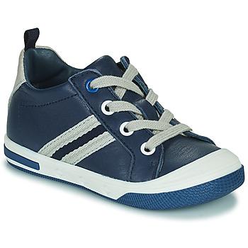 Sapatos Rapaz Sapatilhas Little Mary LOGAN Azul