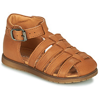 Sapatos Rapaz Sandálias Little Mary LIXY Castanho