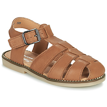 Sapatos Rapaz Sandálias Little Mary BREHAT Castanho