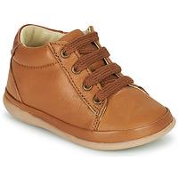 Sapatos Rapariga Sapatilhas de cano-alto Little Mary GAMBARDE Castanho