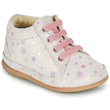 Sapatos Rapariga Sapatilhas de cano-alto Little Mary GAMBARDE Rosa