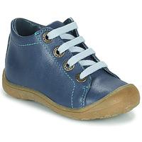Sapatos Criança Sapatilhas de cano-alto Little Mary GOOD Azul