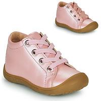 Sapatos Criança Sapatilhas de cano-alto Little Mary GOOD Rosa
