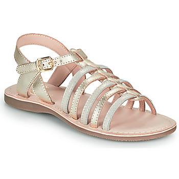Sapatos Rapariga Sandálias Little Mary BARBADE Ouro