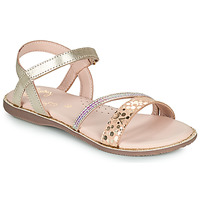 Sapatos Rapariga Sandálias Little Mary DOLERON Ouro