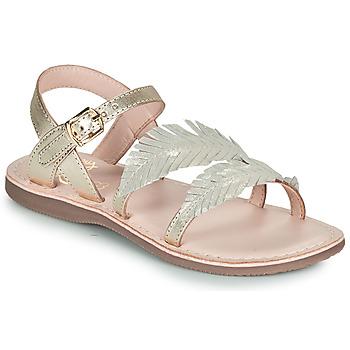 Sapatos Rapariga Sandálias Little Mary LORETTE Ouro