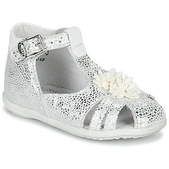 Sapatos Rapariga Sandálias Little Mary GLADYS Prata