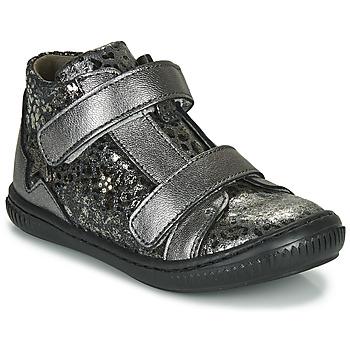 Sapatos Rapariga Sapatilhas de cano-alto Little Mary JACKLYN Prata