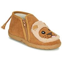 Sapatos Criança Chinelos Little Mary LIONZIP Conhaque