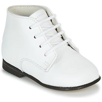 Sapatos Criança Botas baixas Little Mary FL Branco