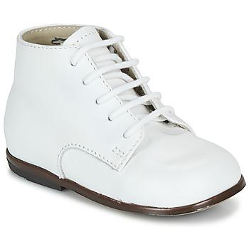 Sapatos Criança Botas baixas Little Mary QUINQUIN Branco