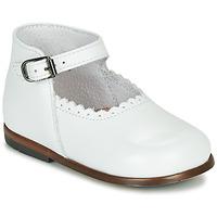 Sapatos Rapariga Sandálias Little Mary VOCALISE Branco