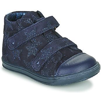 Sapatos Rapariga Sapatilhas de cano-alto Little Mary ADELINE Marinho