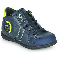 Sapatos Rapaz Botas baixas Little Mary FELIX Azul