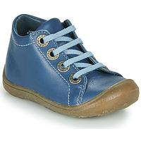 Sapatos Criança Sapatilhas de cano-alto Little Mary GOOD ! Azul