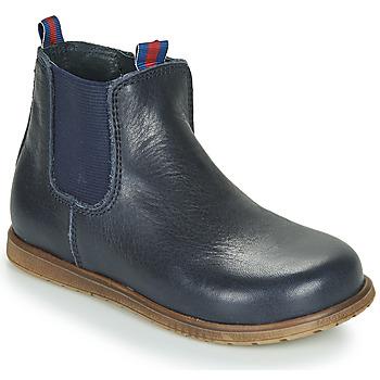 Sapatos Rapaz Botas baixas Little Mary JAUFFREY Marinho