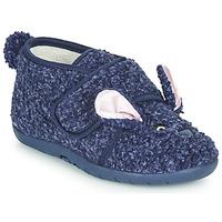Sapatos Criança Chinelos Little Mary LAPINVELCRO Azul