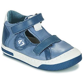 Sapatos Rapaz Sapatilhas Little Mary LORENZO Azul